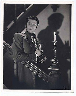 Vintage 1940 PRIDE AND PREJUDICE Original 8x10 LAURENCE OLIVIER Portrait SHADOW