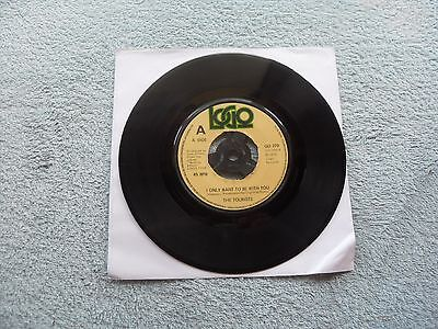 """The Tourists I Only Want To Be With You Logo Records Uk 7"""" Vinyl Single Record"""