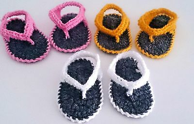 Baby Crochet Sandals,hand-Made Shoes,girls Boots,white,pink Yellow