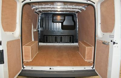 Ford Transit SWB FWD ply lining kit (with cargo rails) 2000-2014