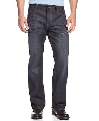 INC-NEW-Blue-Men's-34X32-Barcelona-Relaxed-Fit-Dark-Wash-Denim-Jeans-NWT