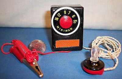 Vest Pocket Miniature Crystal  Radio ~ 1950's Japan ~ NIB