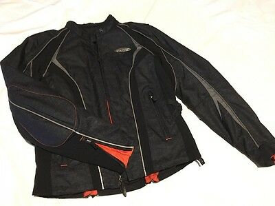Harley Davidson Medium FXRG M Jacket Coat Motorcycle New Black HD Women's Riding