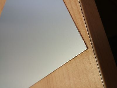 "1/8"" .125 Clear Anodized Aluminum Sheet 5005 12"" x 12"""