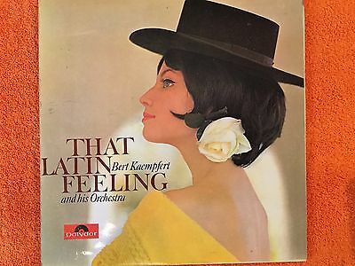 BERT KAEMPFERT - That Latin Feeling - LP Record - Excellent Condition