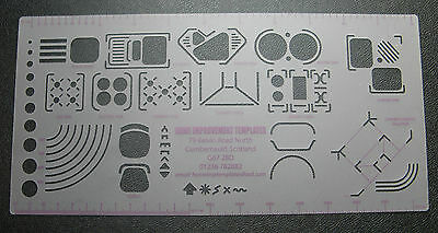Kitchen Planning/design Template / Stencil - 1:20 Scale