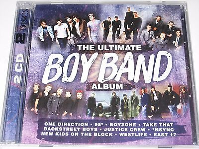 THE ULTIMATE BOY BAND ALBUM 2 disc cd NEW/SEALED