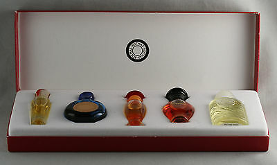 Boxed Set Of 5 Miniature Perfumes By Bochas