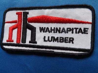 Home Hardware Lumber Wahnapitae Employee Patch Canada Collector Badge