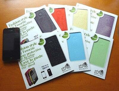 7 Pcs Skin Decal Sticker for Apple IPHONE 4/4S Back and front