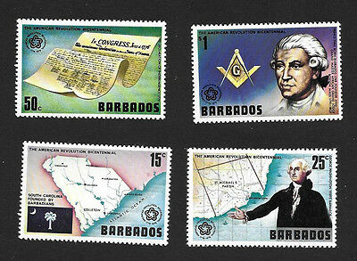 Barbados 440-443 VF MNH Set of 4