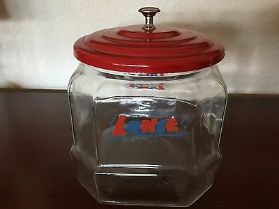 "Vintage Lance Cookie Jar 8"" Counter Jar"