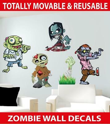 Zombies Movable Wall Stickers
