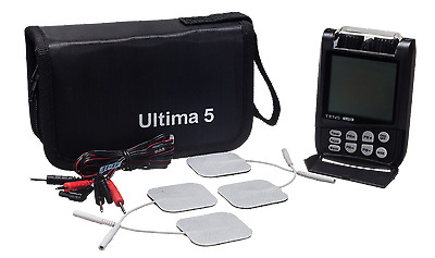 Tens Unit Electrotherapy Portable Digital Pain Relief Stimulator Ultima Five TEN