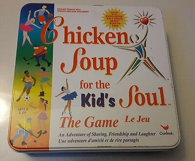 Chicken Soup For The Kids Soul Board Game *100% Complete*