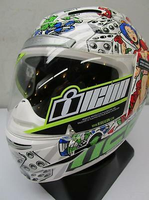ICON Airmada Lucky Lid 2 Motorcycle Helmet MED