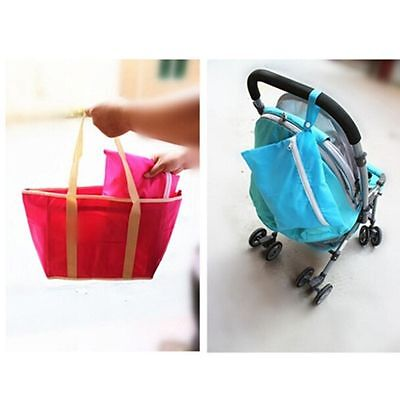 Storage Holder Clothes Buggy New Organizer Pushchair Nappy Bag Baby Stroller