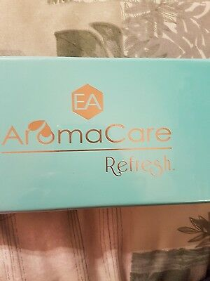 EA AromaCare Refresh  6 Pure Essential Oils Blends 10 ml Each New
