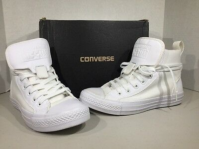 Converse All Star Guard Hi White Mens 5 Women's 7 Sneakers Shoes XJ-48