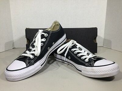 Converse All Star Chuck Taylor Men's 4.5 Women's 6.5 Black Sneakers Shoes XJ-43