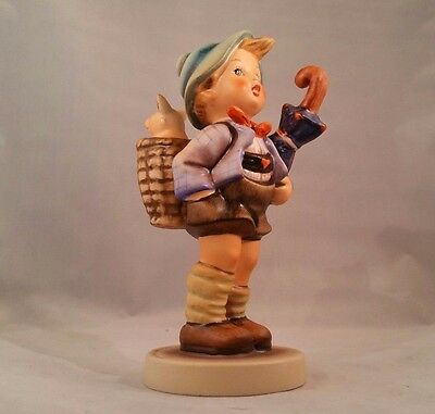 """5 1/2"""" Hummel Figurine Home From Market # 198/1 TMK 5 Excellent Condition"""