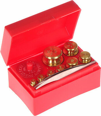 OHAUS Student Metric Brass Scale Weights Model 241 Complete
