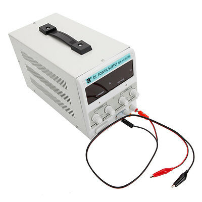 DC Power Supply 30V 10A Precision Variable Adjustable Switching Digital Study