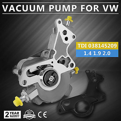 Volkswagen Brake Booster Vacuum Pump Power Bora Vw Passat Jetta Beetle Golf
