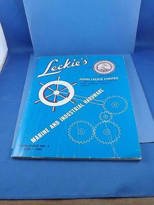 Leckies Marine And Industrial Hardware Catalog No. 1 + Price Lists 1964-1965