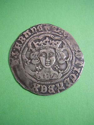 Edward Iv Silver Medieval Groat York Mint Mark On Breast