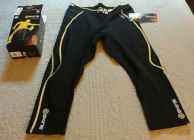 SKINS Men's A200 Thermal Compression 3/4 Tights new extra large