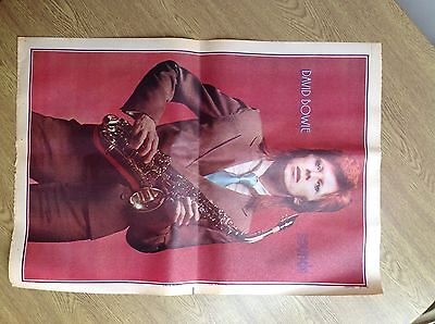 David Bowie - Vintage Sounds Magazine poster  from 1973