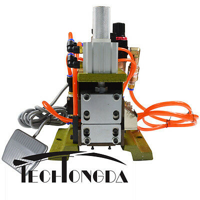 Desktop Pneumatic Flat Ribbon Cable Wire Stripping Peeling Machine with Filter