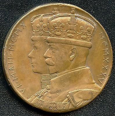 South Africa King George V Commemorative Coin Token Ca. 1910 31 mm Diameter