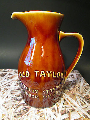 OLD TAYLOR Kentucky Straight Bourbon Whiskey JUG