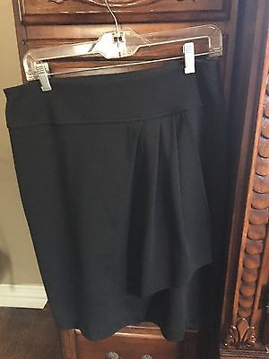 womens Skirt By Fashion Bug Size Small In Black.
