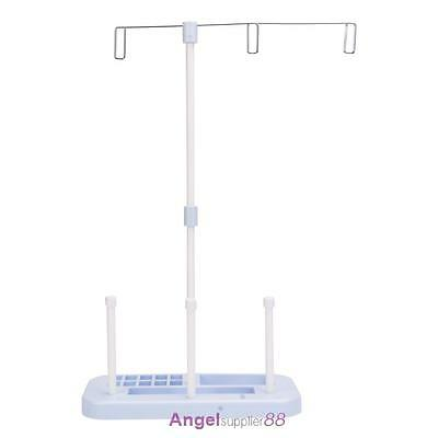 3 Thread Spool Embroidery Holder Stand for Home Sewing Machine Rack Sew Quilting