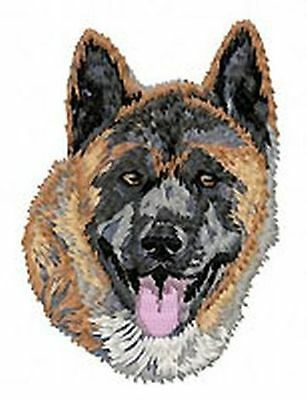 """Akita Dog - Embroidered Patch 3.1""""Tall"""