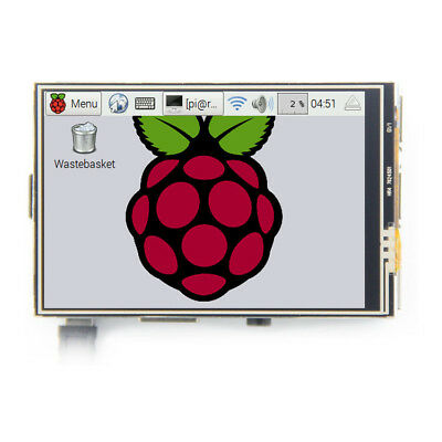 2017 Latest 3.5'' 480x800 IPS LCD Display Touch Screen USB HDMI For Raspberry Pi