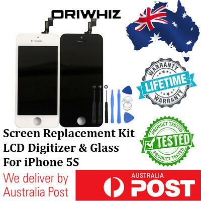 ORIWHIZ - For iPhone 5s LCD Touch Screen Replacement Digitizer Display Assembly