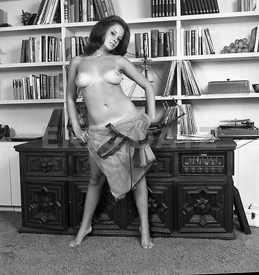 1960s John Castano Negative, beautiful nude pin-up girl Annette Moore, t977370