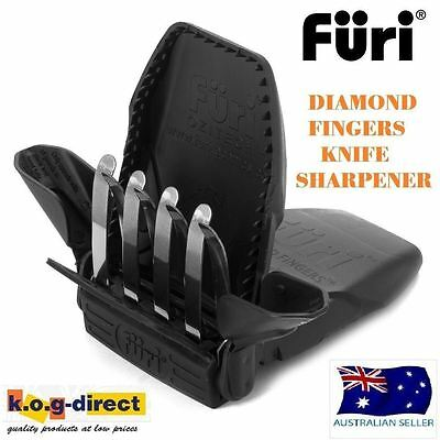Furi Ozitech Diamond Fingers Compact Knife Sharpener Brand New