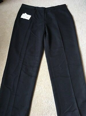 GLENMUIR LADIES LINTLAW GOLF TROUSERS BLACK  NEW WITH TAGS SIZE 16 Short