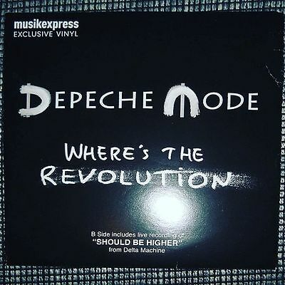 Depeche Mode - Where´s the Revolution Vinyl Single