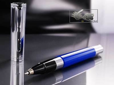 Aurora TU Roller Ball Pen - Blue Resin Body - T71CB