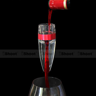 Quick Aerating Pourer Decanter Red Wine Mini Travel Aerator Essential Tool Set