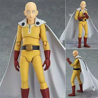 Figma 310 One Punch Man Hero Saitama PVC Figure Toy Anime Gifts