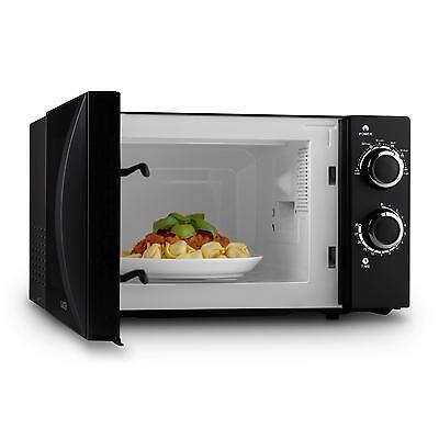 700W Electric Microwave Oven  6 Power Levels 20 Litre Stainless Steel