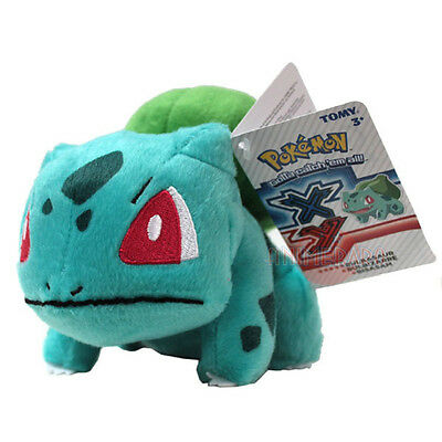 "Official 8"" Tomy X Y Pokemon Bulbasaur Plush Soft Toy Plush New Tags"