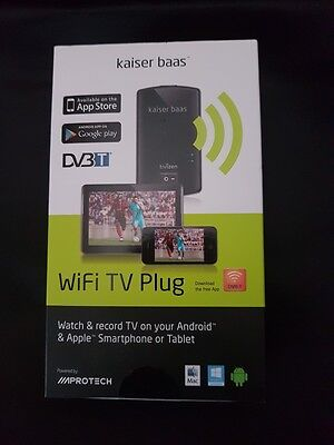 Kaiser Baas WiFi TV Plug,Stream TV on your Android, Apple,Smartphone or Tablet